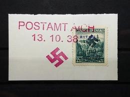 Sudetenland Rümburg Postamt Aich Mi-Nr. 383 Gestempelt - Sudeti