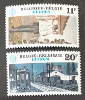 BELGIQUE    Europa 1983   N° Y&T  2091 Et 2092  ** - Ungebraucht