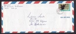 St Vincent & Grenadines: Airmail Cover To Netherlands, 1994, 1 Stamp, Plant, Plants (minor Damage) - St.-Vincent En De Grenadines
