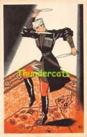 CPA ILLUSTRATEUR F. FAG CHATEAU CAUCASIEN PARIS 09ARTIST SIGNED - Other Illustrators