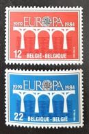 BELGIQUE    Europa 1984   N° Y&T  2130 Et 2131  ** - Ungebraucht