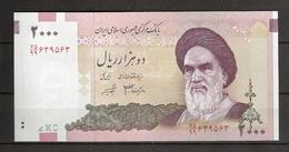 IRAN. 2000 Rls. Préfixe 99.  Série 75.    Replacement. - Iran