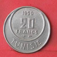 TUNISIA 20 FRANCS 1950 -    KM# 274 - (Nº35535) - Tunisia