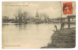 Pissy - La Mare - Animation - 1 - Circulé 1913 - Mlle LENGLET - Francia