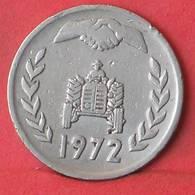 ALGERIA 1 DINAR 1972 -    KM# 104,1 - (Nº35536) - Algeria