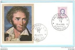 ITALIEN ITALY ITALIA  FDC  1654 Ugo Foscolo Dichter --- FILAGRANO  (15732) - 1946-.. République