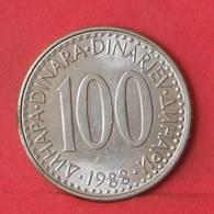 YUGOSLAVIA 100 DINARA 1988 -    KM# 114 - (Nº35543) - Yougoslavie