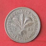NIGERIA 1 SHILLING 1959 -    KM# 5 - (Nº35544) - Nigeria