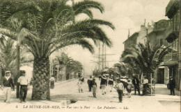 D83   LA SEYNE SUR MER  Vue Vers Le Port - Les Palmiers ( Belle Animation ) - La Seyne-sur-Mer