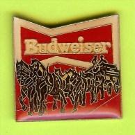 Pin's Bière Budweiser Attelage Chevaux - 7S09 - Bière