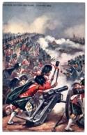 "CPA Militaria - TUCK And Son ""Oilette"" -  Famous British Battle, Vimieira 1808. The Highlanders Turning  Captured Guns - Militaria"