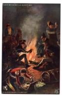 "CPA Militaria - TUCK And Son ""Oilette"" -  Famous British Battle, Busaco 1810. The Bivouac Before The Battle - Militaria"