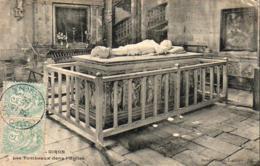 D79  OIRON  Les Tombeaux Dans L'Eglise     ............. .  ( REP1952) - France