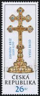 Czech Republic - 2013 - Zavisuv Cross From Vyssi Brod - Mint Stamp - Ungebraucht