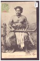 FIDJI - CHEF FIDJIEN EN COSTUME DE GUERRE - TB - Figi