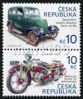 Czech Republic - 2013 - Historical Transportations, 2nd Issue - Mint Stamp Set - Ungebraucht