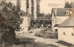 D49  BAUNÉ  Vue Du Moulin - France