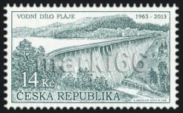 Czech Republic - 2013 - Technical Monuments - The Flaje Dam, 50th Anniversary - Mint Stamp - Ungebraucht