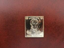 1999 Sesquicentenaire Du Timbre Belge:médaille Du 10 C épaulettes - België