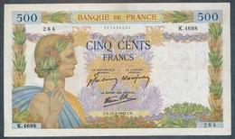 France 500 Francs La Paix 12/02/1942  Prs SUP - 500 F 1940-1944 ''La Paix''
