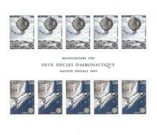 € Monaco .. Bloc B 25 .. Europa CEPT 1983 .. Montgolfiere, Navette Spatiale Aeronautique  ** MNH .. Cote 28.00 € - Europa-CEPT