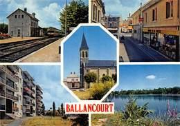 CPSM 91 BALLANCOURT MULTI VUES       Grand Format  15 X 10,5 Cm - Ballancourt Sur Essonne