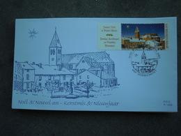 OCB Nr 3224 Nouvelle An Nieuwjaar Christmas Noel Kerstmis Navidad Joel  ( FDC Class Gris Box ) Stempel Herbeumont - 2001-10