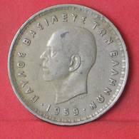 GREECE 10 DRACHMAI 1959 -    KM# 84 - (Nº35571) - Greece