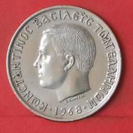 GREECE 10 DRACHMAI 1968 -    KM# 96 - (Nº35572) - Greece