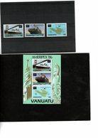 Expo Philatélique Ameripex 86 - TP + BF Vanuatu - Vanuatu (1980-...)