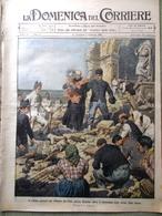 La Domenica Del Corriere 31 Gennaio 1909 Messina Cannitello Ruffo Chiesa Di Nax - Autres