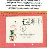 SOMME ORDONNANCE / 17 NOVEMBRE 1844 / (Art 30 ET 31) ENV 1974 MERS LES BAINS ET TAXE CHAMBERY SAVOIE => VOIR DESCRIPTION - Postmark Collection (Covers)