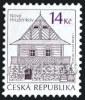 Czech Republic - 2013 - Traditional Architecture - Nový Hrozenkov - Mint Definitive Stamp - Ungebraucht