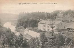 43 Le Chambon Sur Lignon Chambon De Tence Vu Générale Avec Le Pont - Le Chambon-sur-Lignon