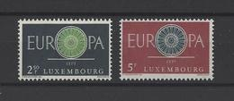 LUXEMBOURG.  YT   N° 587/588  Neuf **  1960 - Luxemburg