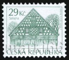 Czech Republic - 2013 - Traditional Architecture - Salajna - Mint Definitive Stamp - Ungebraucht