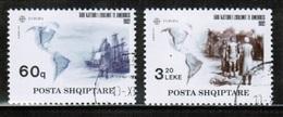 CEPT 1992 AL MI 2510-11 ALBANIA USED - Europa-CEPT
