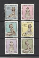 LUXEMBOURG.  YT   N° 589/594  Neuf **  1960 - Luxemburg