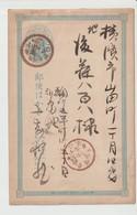 JAPON - Entier Postal 1 SEN  BLEU - Cina