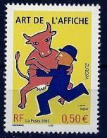 "FR YT 3556 "" Europa, Art De L'affiche "" 2003 Neuf** - France"
