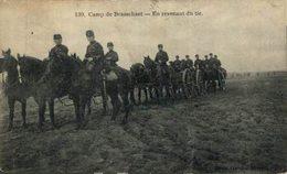 Brasschaat - Camp De Brasschaet - En Revenant Du Tir.  ANTWERPEN // ANVERS. Belgica//Belgique - Antwerpen