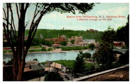 New Jesey View Of Easton From Phillipsburg New Jersey - United States