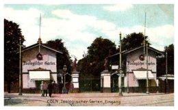 Germany   Coln  Zoologischer Garten Eingang - Germany