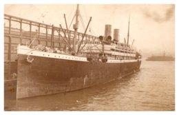 Barbarossa  Docked At Pier RPC - Paquebots