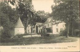 37- PARCAY-sur-VIENNE Chateau De La Bêche -Servitudes Et Chenils-circulée 1916-scans Recto Verso - Andere Gemeenten