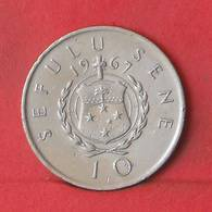 SAMOA 10 SENE 1967 -    KM# 4 - (Nº35573) - Samoa