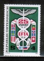 EUROPEAN IDEAS 1985 EFTA AT MI 1813 AUSTRIA - Europese Gedachte
