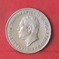 SAMOA 10 SENE 1974 -    KM# 15 - (Nº35574) - Samoa