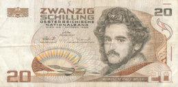 BILLET - AUTRICHE - ZWANZIG SCHILLING   VINGT - Austria
