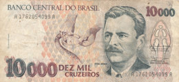 BILLET -   BRESIL  BANCO CENTRAL DO BRASIL DEZ  MIL CRUZEIROS - Brasilien